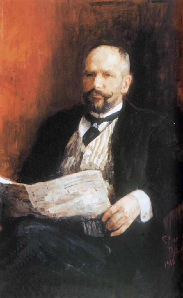 П.А. Столыпин. Портрет кисти И.Е. Репина